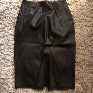Leather Zara skirt